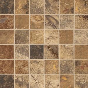 MARAZZI Jade Chestnut 13 in. x 13 in. Glazed Porcelain Floor & Wall Mosaic Tile