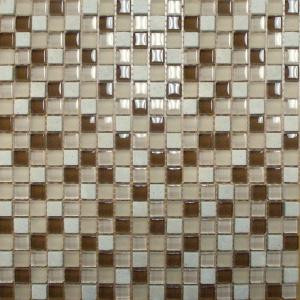 MS International Caramel Cream 12 in. x 12 in. Beige Mesh-Mounted Mosaic Tile