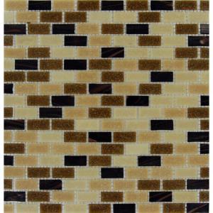 MS International 12 in. x 12 in. Desert Spring Glass Mesh-Mounted Mosaic Tile