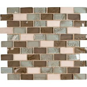 MS International Cosmos 12 in. x 12 in. Glass Stone Blend Mesh-Mounted Mosaic Wall Tile