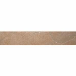 TrafficMASTER Caribbean Sunrise 3 in. x 16 in. Glazed Ceramic Floor Bullnose