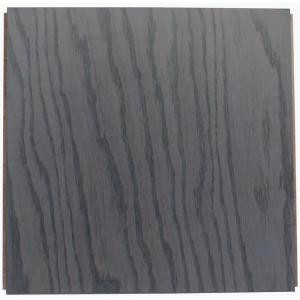 Ludaire Speciality Tile Red Oak Gray Mist 12 in. x 12 in. Engineered Hardwood Tile Flooring (18 sq. ft. / case)
