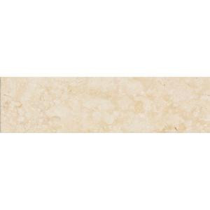 Jeffrey Court Creama 3 in. x 6 in. Honed Marble Floor/Wall Tile (8pieces/1 sq. ft./1pack)
