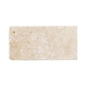 Jeffrey Court Light Travertine 3 in. x 6 in. Floor/Wall Tile (8pieces/1 sq. ft./1pack)