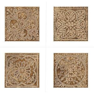 MARAZZI Montagna Belluno 6 in. x 6 in. Porcelain Embossed Deco (Receive 1 of 4 Random Decos - Sold as Singles)
