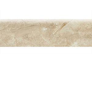 Daltile Broadmoor Topaz 3 in. x 10 in. Ceramic Bullnose Wall Tile