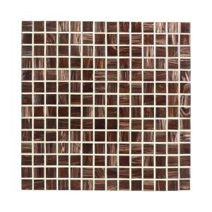 Jeffrey Court Sasparilla 12 in. x 12 in. Glass Mosaic Tile
