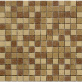 MS International Canyon Vista Mosaic 12 in. x 12 in. Glass Floor and Wall Tile