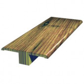 Shaw Multiple Color Coordinating 5/8 in. x 2 in. x 78 in. Engineered Hardwood T-Mold Molding