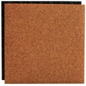 Place N' Go Cork 18.5 in. x 18.5 in. Interlocking Waterproof Vinyl Tile with Built-In Underlayment