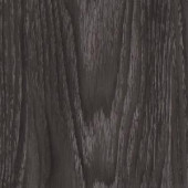 TrafficMASTER Allure Ultra Aspen Oak Black Resilient Vinyl Flooring - 4 in. x 7 in. Take Home Sample