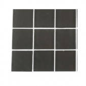Splashback Tile Contempo Smoke Gray Frosted Glass - 6 in. x 6 in. Tile Sample