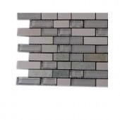 Splashback Tile Victoria Falls Glass - 6 in. x 6 in. Tile Sample