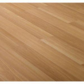 Light Beech Block Laminate Flooring - 5 in. x 7 in. Take Home Sample