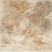 Daltile Folkstone Sandy Beach 18 in. x 18 in. Beige Porcelain Floor Tile