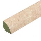 DuPont Tavas Travertine .75 in. Wide x 94 in. Length Laminate Quarter Round Molding
