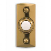 Heath Zenith Wired Halo-Lighted Polished Finish Recessed Mount Push Button