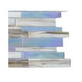 Splashback Tile Matchstix Fate Glass Floor and Wall Tile - 6 in. x 6 in. Tile Sample
