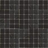 EPOCH Metalz Palladium-1011 Mosiac Recycled Glass Mesh Mounted Tile - 4 in. x 4 in. Tile Sample
