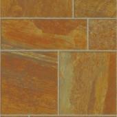 Innovations Amber Random Slate Laminate Flooring - 5 in. x 7 in. Take Home Sample