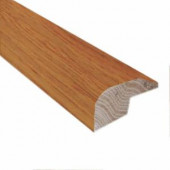 Millstead American Cherry Mocha .88 in. Thick x 2 in. Wide x 78 in. Length Hardwood Carpet Reducer/Baby Threshold Molding