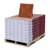 Hampton Bay High Gloss Perry Hickory 8mm Thick x 5 in. Wide x 47-3/4 in. Length Laminate Flooring (636.48 sq. ft. / pallet)