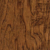 Home Legend Handscraped Distressed Palmero Hickory Click Hardwood Flooring - 5 in. x 7 in. Take Home Sample