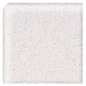Daltile Semi-Gloss Pepper White 2 in. x 2 in. Ceramic Bullnose Corner Wall Tile