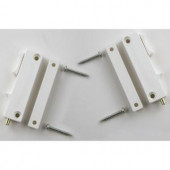 ODL Double Door Installation Kit for White ODL Retractable Screens