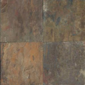 MS International Rustique Earth 12 in. x 12 in. Gauged Slate Floor & Wall Tile