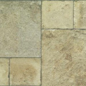 Innovations Tuscan Stone Sand Laminate Flooring - 5 in. x 7 in. Take Home Sample