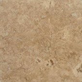 MS International Walnut Blend 18 In. x 18 In. Honed-Filled Travertine Floor & Wall Tile