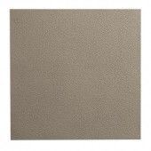 ROPPE Texture Pattern Design Pewter 19.69 in. x 19.69 in. Dry Back Tile