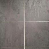 Hampton Bay Black Slate Laminate Flooring - 5 in. x 7 in. Take Home Sample