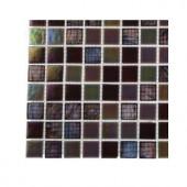 Splashback Tile Rainbow Fish Glass - 6 in. x 6 in. Tile Sample