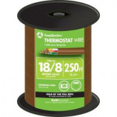 Southwire 18-8 Thermostat Wire - Brown (By-the-Foot)