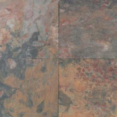 Daltile Natural Stone Collection Sunset Glory 16 in. x 16 in. Slate Floor and Wall Tile (10.68 sq. ft. / case)