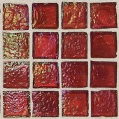Daltile Egyptian Glass Rosetta 12 in. x 12 in. x 6mm Glass Face-Mounted Mosaic Wall Tile (11 sq. ft. / case)