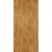 TrafficMASTER InterLock 5-45/64 in. x 35-45/64 in. x 4 mm Rustic Maple Honeytone Resilient Vinyl Plank Flooring (22.66 sq. ft./case)