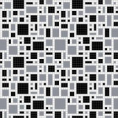 Mosaic Loft Scatter Night Motif 24 in. x 24 in. Glass Wall and Light Residential Floor Mosaic Tile