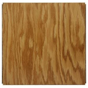 Ludaire Speciality Tile Red Oak Natural Engineered Hardwood Tile Flooring -12 in. x 12 in. Take Home Sample