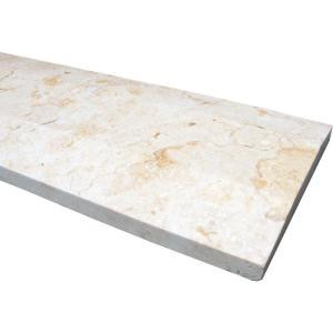 MS International Beige Hollywood Style 5 in. x 30 in. Engineered Marble Threshold