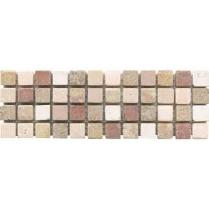 ELIANE Mosaico C-1600 3 in. x 8 in. Natural Stone Floor and Wall Mosaic Tile