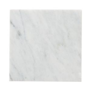 Jeffrey Court Carrara 6 in. x 6 in. Honed Marble Floor/Wall Tile (4 pieces/1 sq. ft./1pack)