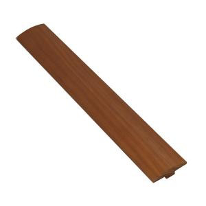 Ludaire Speciality Tile Hickory Gunstock 3/8 in. Thick x 2 in. Width x 78 in. Length Hardwood T-Molding