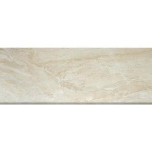 MS International Onyx Sand 3 in. x 8 in. Porcelain Bullnose Wall Tile