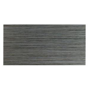 MONO SERRA Italia Zen Noir 12 in. x 24 in. Porcelain Floor and Wall Tile (16 sq. ft. / case)