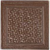 MARAZZI Montagna 2 in. x 2 in. Metal Resin Bronze Basketweave Deco
