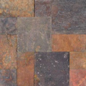 MS International Peacock Slate Pattern Natural Gauged Floor and Wall Tile (16 sq. ft./case)