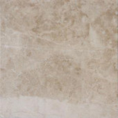 MS International Crema Cappuccino 12 in. x 12 in. Beige Polished Marble Floor and Wall Tile (5 sq. ft. /case)